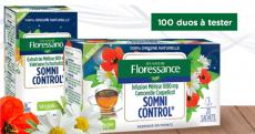 200 produits Somni Control de Floressance à tester !