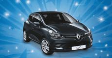 En jeu : une voiture Renault Clio Trend d'une valeur de 16000 euros