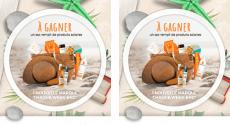 Packs de produits offerts (Kérastase, Vichy, L'Oréal…)