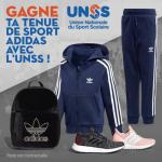 3 tenues de sport Adidas à gagner 0 (0)