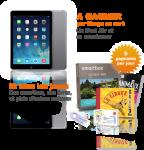 Gagnez un iPad Air et sa smartcover, un voyage….