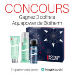 Gagnez 3 coffrets Aquapower Biotherm Homme ! 0 (0)