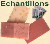 3 échantillons de savons par AromaNature