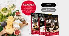 A gagner : 40 cartes cadeaux Auchan de 50€, 20 coffrets Wonderbox 0 (0)