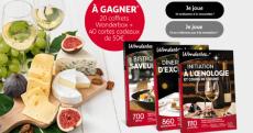 20 coffrets Wonderbox et 40 cartes cadeaux Auchan de 50€ à remporter ! 0 (0)