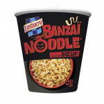 Réduction Banzaï noodles Lustucru chez Leader Price