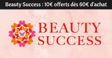 Bon plan Beauty Success : 10€ offerts dès 60€ d'achat