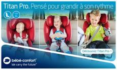 10 sièges-auto Titan Pro de Bébé Confort à tester !