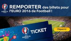 Des billets UEFA 2016 à remporter ! 0 (0)