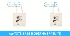 500 tote-bags Bioderma gratuits