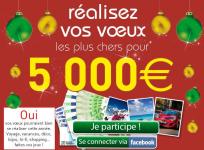 3 chèques de 5000 € à gagner !