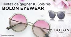 A gagner : 10 paires de lunettes de soleil Bolon Eyewear
