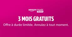 Amazon Music : 3 mois d'abonnement gratuits 3.5 (4)