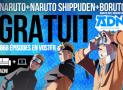 Intégrales de Naruto, Naruto Shippuden & Boruto à visionner gratuitement