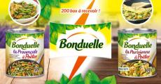 200 box Bonduelle gratuites !