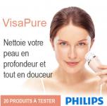 20 Brosses Nettoyantes Visage VisaPure de Philips à gagner! 0 (0)