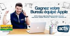 Tentez de gagner un bureau équipé Apple de 1800€