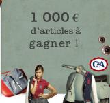 1000 euros d'articles C&A à gagner!