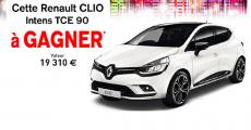 En jeu : 1 Renault Clio Intens de 19'310€