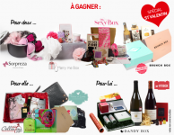 Gagnez des packs spécial Saint-Valentin: parfums, lingerie…