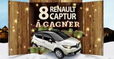 En jeu : 8 voitures Renault Captur de 19'434€ 0 (0)
