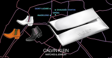 Pochette Calvin Klein offerte sur simple visite