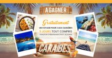 En jeu : un voyage pour deux aux Caraïbes de 1'500€