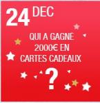 Une carte cadeau Carrefour de 2000 € à gagner !
