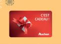 A remporter : 30 cartes cadeaux Auchan de 50€ + 1 séjour au ski aux Arcs de 2899€