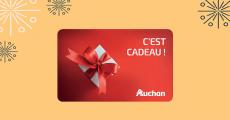 A remporter : 30 cartes cadeaux Auchan de 50€ + 1 séjour au ski aux Arcs de 2899€ 0 (0)