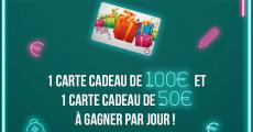 42 cartes cadeaux Cora de 50 à 100€ à remporter 0 (0)