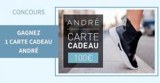 3 cartes cadeaux André de 100€ à remporter 5 (1)