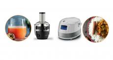 En jeu : 1 centrifugeuse, 1 multicuiseur et de nombreux cadeaux  !