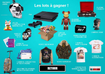 Gagnez 1 console de jeu PS 4 et pleins de cadeaux avec Citadium !