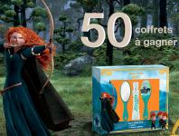 50 lots de parfum Disney/Pixar du film Rebelle!