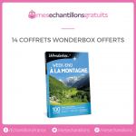 14 coffrets Wonderbox offerts 0 (0)