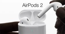 En jeu : 1 paire d'écouteurs Apple AirPods 2