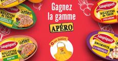 10 coffrets Apéro Saupiquet avec tablier offerts 0 (0)