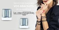 20 coffrets de bracelets Les Interchangeables offerts
