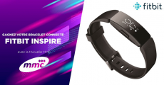 Tentez de gagner un bracelet connecté Fitbit