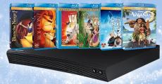 Remportez 1 lecteur Blu-ray avec toute la collection DVD de Disney