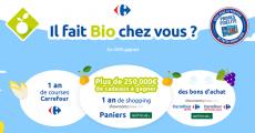 En jeu : 1 an de courses Carrefour, 1 an de shopping, 100 bons d'achat et+ 0 (0)