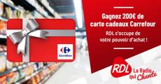 Carte cadeau Carrefour de 200€ offerte 0 (0)