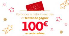 533 cartes cadeaux Auchan de 100€ à remporter