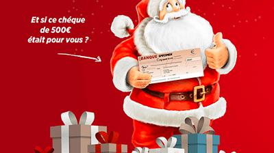 Chèque-cadeau de 500€ offert pour Noël