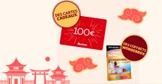 10 cartes cadeaux Auchan de 100€ offertes
