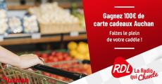 Carte cadeau Auchan de 100€ offerte 4.2 (9)
