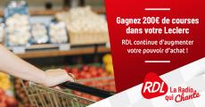 Carte cadeau Leclerc de 200€ à gagner 4.6 (10)