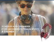 5 casques audio Sennheiser Momentum et 5 abonnements premium Spotify à gagner !