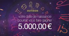 Tentez de remporter un chèque de 5000€